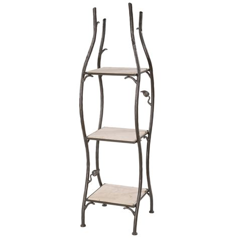 Wrought Iron Bathroom Shelves Wrought Iron Shelving Units Bathroom Grace Bathroom Storage Racks For Towels And Bath Room