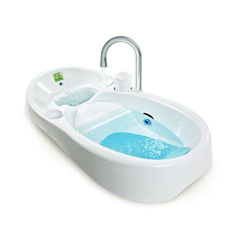 baby spa bathtub openbox 4moms baby bath tub white ebay