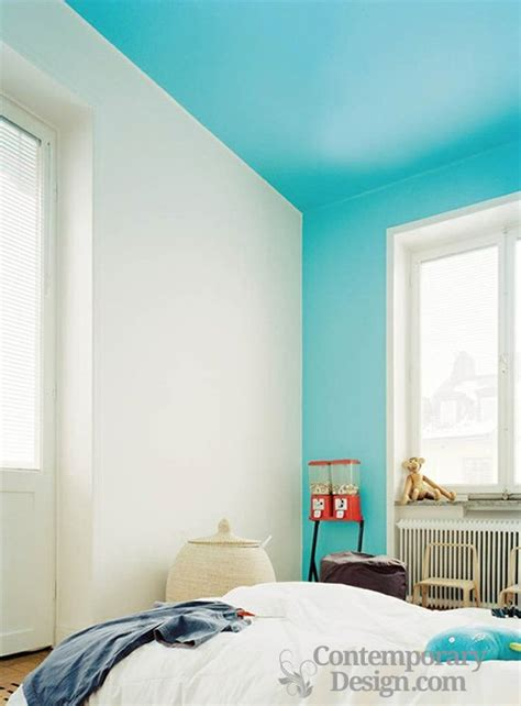 paint ceiling same color as wall