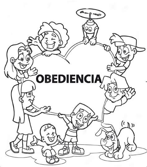 dibujos cristianos de la obediencia sumando valores obediencia colegio horeb