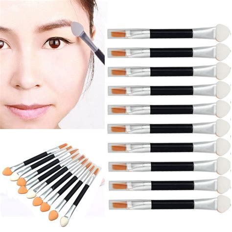 Ended Eye Shadow Brush 10 pack ended eye shadow brush tanga