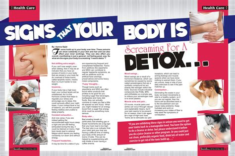 Signs Of Detox Cleansing by Signs Your Is Screaming For A Detox Social Diary