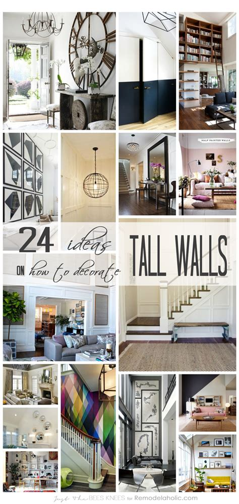 How To Decorate Around A by Remodelaholic 24 Ideas On How To Decorate Walls