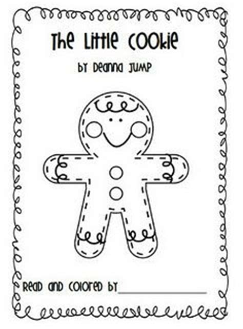 gingerbread man printable reader gingerbread man gingerbread emergent readers and