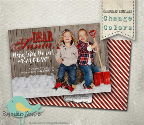 Christmas Card Photoshop Template Family Christmas Cards Family Card Template 2