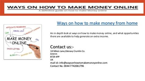 How To Make Illegal Money Online - ways on how to make money online