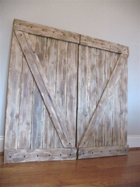 Barn Door Headboard Diy by Diy Barn Door Headboard S Room Redo