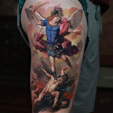 postage st tattoo st michael best ideas gallery