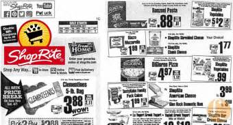 shoprite printable shopping list shoprite preview ad for the week of 3 26 17living rich