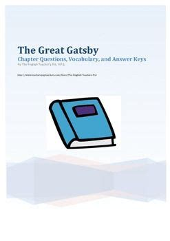 key symbols in the great gatsby the great gatsby vocabulary and gatsby on pinterest