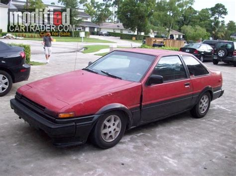 1985 Toyota Corolla For Sale 1985 Toyota Corolla Le