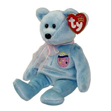 ty beanie baby eggs ii easter bear retired ebay