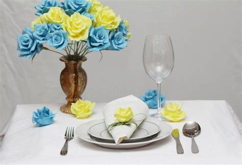 Items similar to Turquoise wedding, blue and yellow