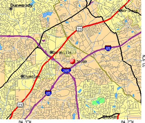 doraville map 30340 zip code doraville profile homes