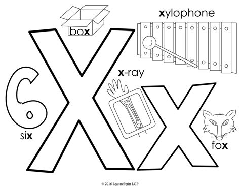 letter x coloring pages preschool preschool and kindergarten tracing letter x sheetstokids