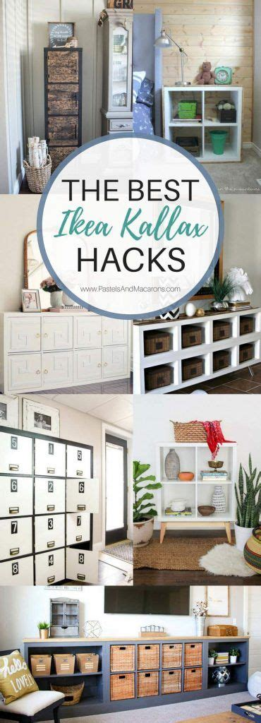 306 best images about ikea hacks diy home on pinterest 20 of the best ikea kallax hacks to organize your entire