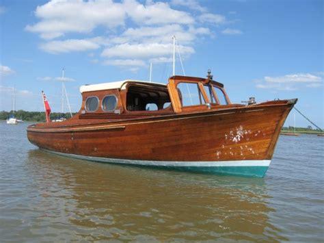 day cruiser wooden motor yacht  sale