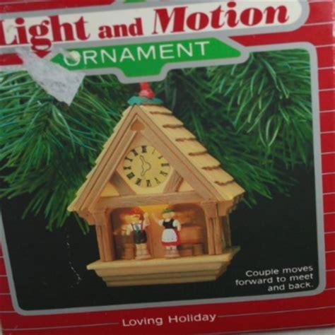 hallmark light and motion ornaments hallmark keepsake light and motion ornament 1987 loving