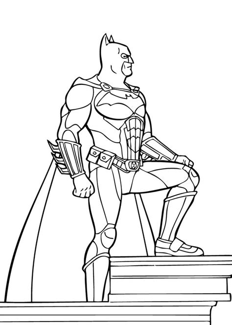 batman the superpower coloring pages hellokids com