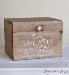 box for wedding cards wedding card box rustic county barn story by braggingbags