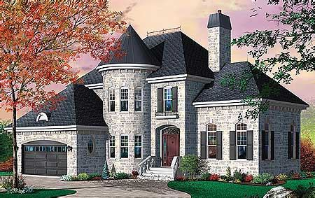 house plans with turrets distinctive 4 bed house plan with turret and options 21236dr architectural designs house plans