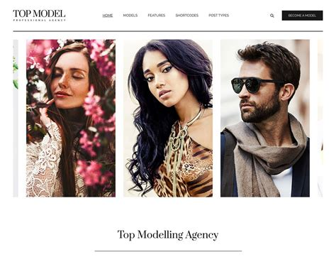 best model agencies 10 best model agency themes 2018 athemes