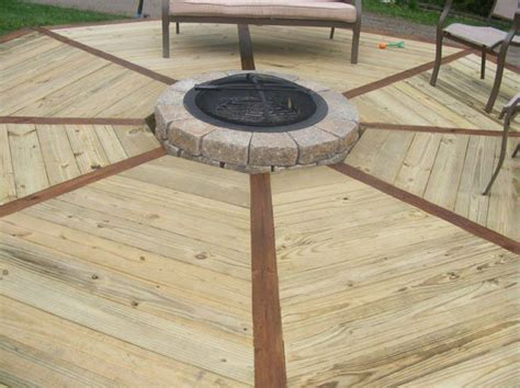 can you put pit on wood deck 181 best firepit images on diy a flower and
