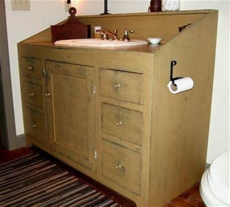 primitive bathroom vanities primitive bathroom vanity primitives pinterest