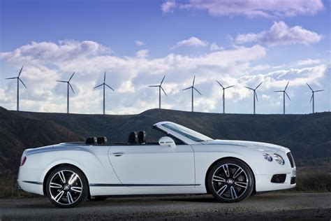 Bentley Continental Convertible White Image 233