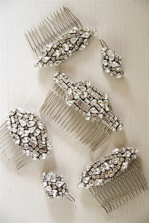 Handmade Hairclips - percy handmade bridal headpieces bridal musings