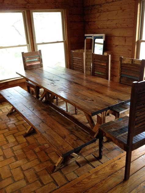 Dining Room Tables Rustic | rustic dining room with unique furniture traba homes