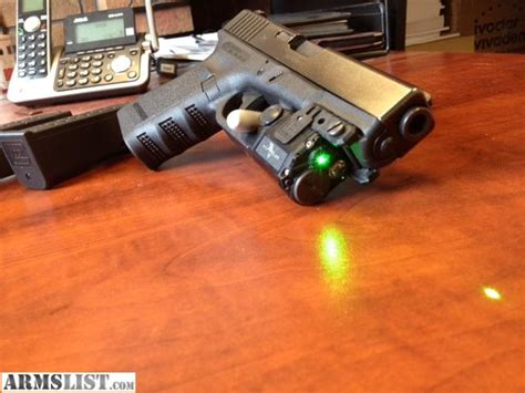 glock 19 light and laser armslist for sale glock 19 carry package green laser