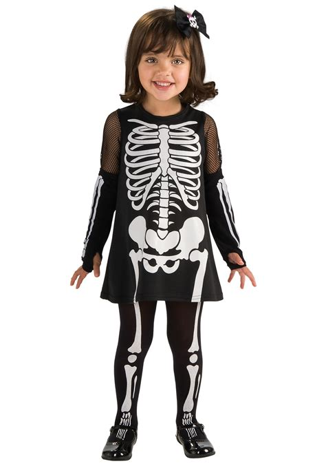 skeleton dress toddler skeleton dress