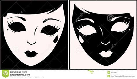 imagenes blancas y negras para bebes m 225 scaras blancas y negras fotos de archivo libres de