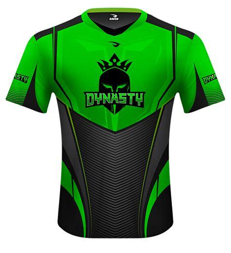 desain jersey kustom raven gg esports gaming jerseys design print