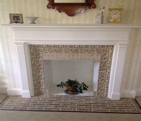 Decorative Tile For Fireplace by Decorative Fireplace Gas Corner Fireplace Design Ideas