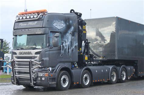 stunning scania v8 airbrush truck loud pipe nordic