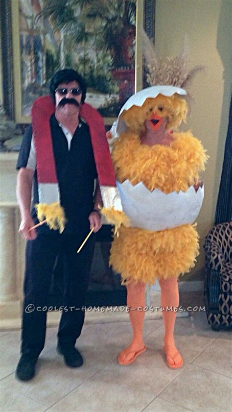 funny chick  chick magnet couple halloween costume