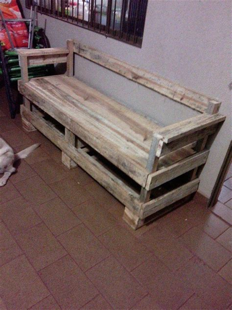 bench made out of pallets wood bench out of pallets