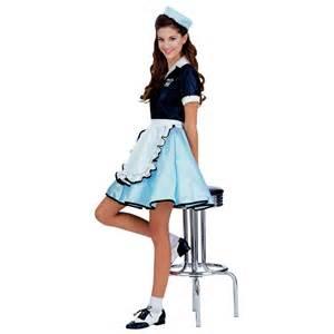halloween costumes waitress car hop costume 50s diner waitress halloween