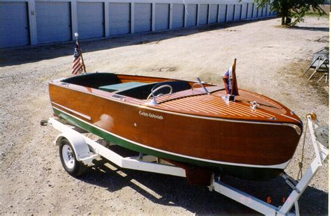 garwood wooden boats 1947 gar wood