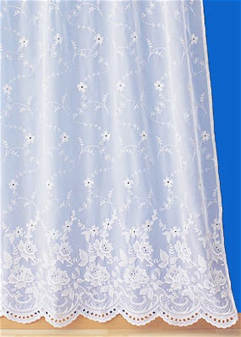 Lace Curtain By The Yard Verone