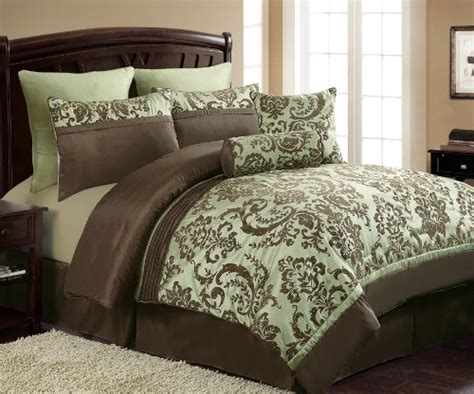 brown and green comforter sage green and brown comforter and bedding sets