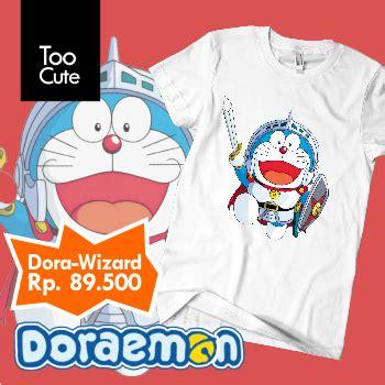 Kaos Kartun Doraemon kaos doraemon doraemon sle
