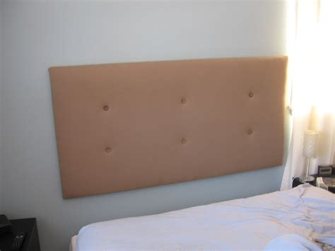 How To Make A Wall Mounted Headboard how to make an upholstered headboard jumptuck