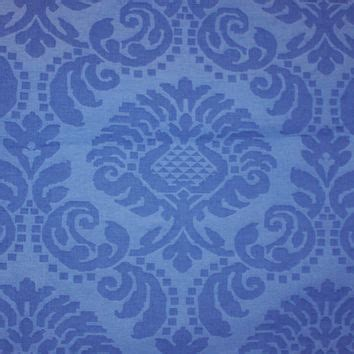Blue Damask Upholstery Fabric by Designer Fabric Cobalt Blue Damask From Period Elegance