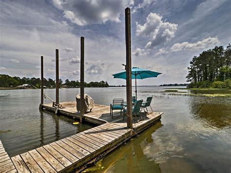 boat slip rental jordan lake new jordan lake home w shared dock boat vrbo