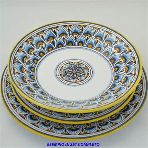 piatti da tavola piatto da tavola piano penne di pavone celeste da cm 26