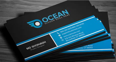 free visiting cards design templates 25 free business cards psd vector eps png format