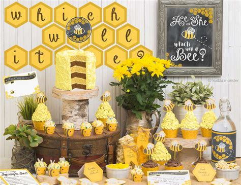 Bees Baby Shower Theme by Bumble Bees Baby Shower Quot He Or She Which Will It Bee